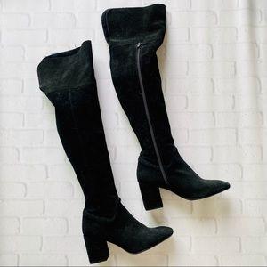 Zara Over the Knee Heeled Boots